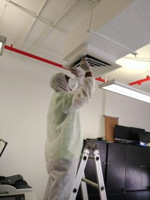 AC Duct Cleaning & Disinfection